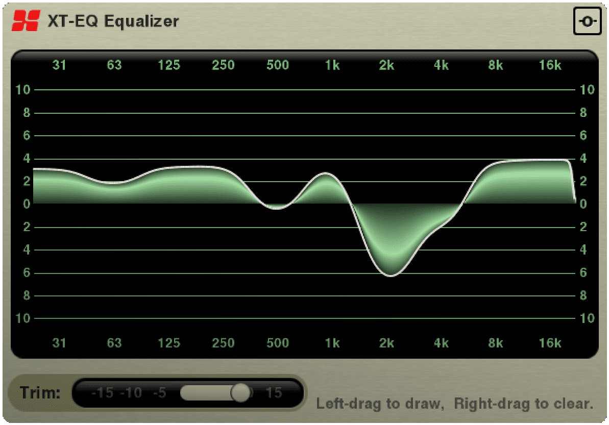 XT-EQ Equalizer music recording software Nashville TN by Harrison Consoles
