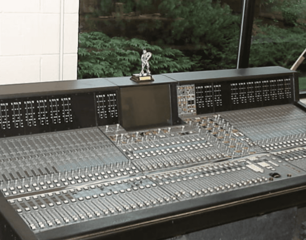 Mixing Console for live and audio post production Nashville TN